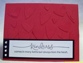 Valentine Kindness card