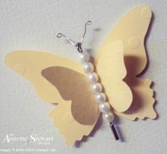 Buttterfly magnet