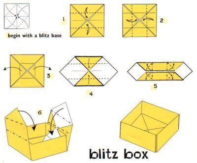 Origami Blitz box