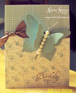 Butterfly magnet card2