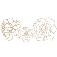 Manhattan flower decor elements