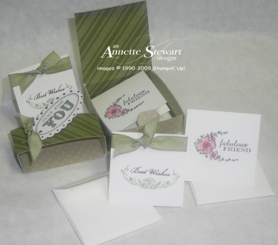 Bitty Box with cards 1