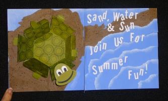 Pop up turtle