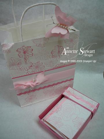 Gift bag - pink set