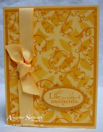 Lattice card so saffron