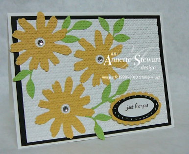 Square lattice Flower card