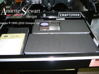 Big shot station to drawer