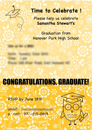 Samantha's Graduation invit-001