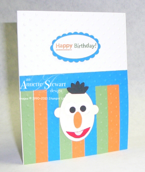 Bert birthday card