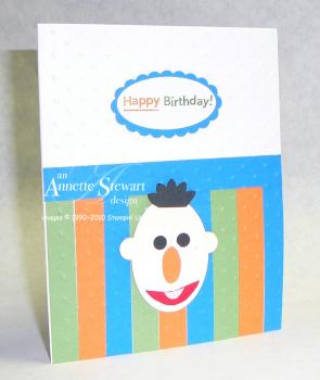 Bert birthday card