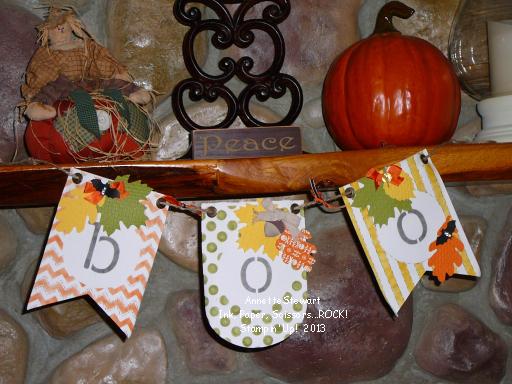Boo leaf banner